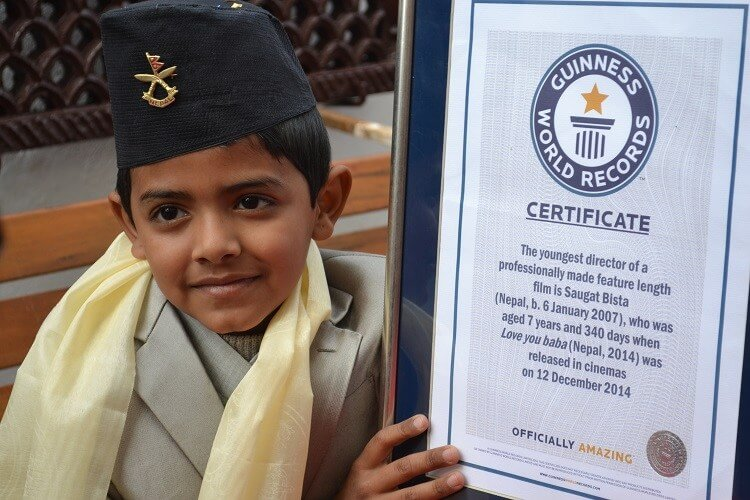 Hilarious feat at Guinness world record