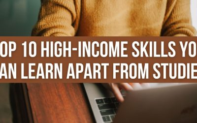 Top 10 high-income skills you can learn apart from studies